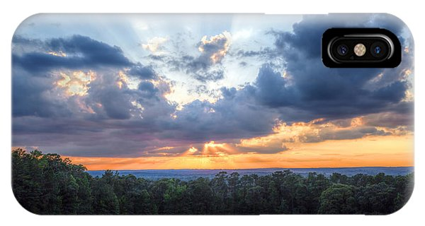 Texas Sunset As Seen From Louisiana IPhone Case