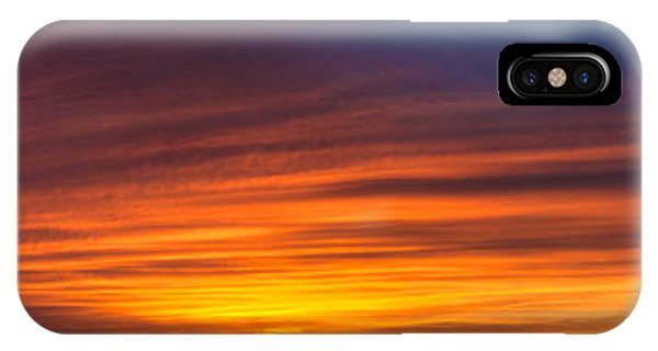 Texas Sunset Panorama IPhone Case