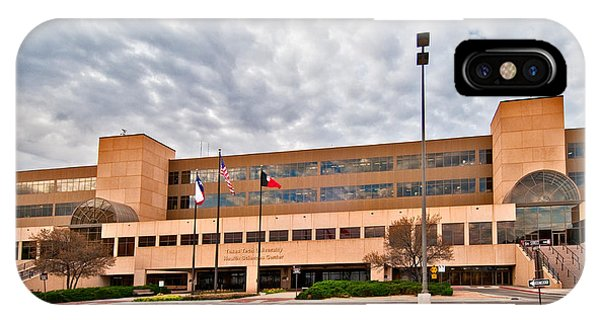 IPhone Case featuring the photograph Texas Tech Health Science Center by Mae Wertz