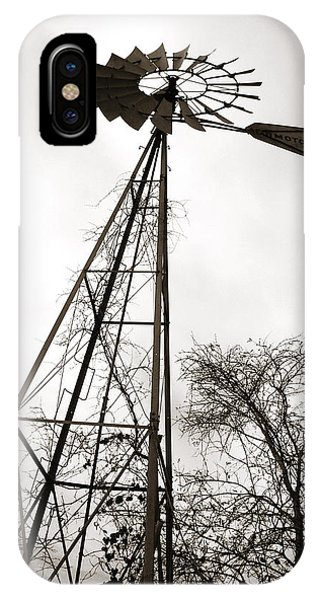 Texas Windmill IPhone Case