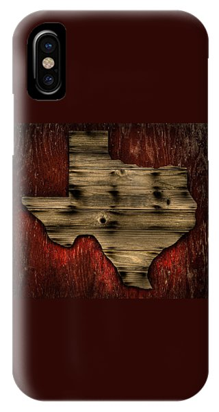 Texas Wood IPhone Case