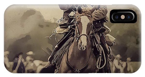 Texican Cavalry IPhone Case