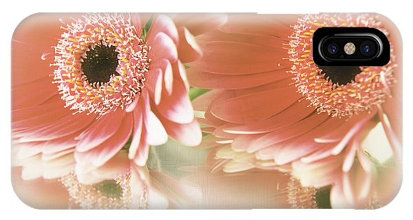 Textured Floral Artwork IPhone Case