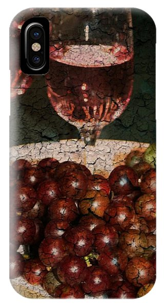 Textured Grapes IPhone Case
