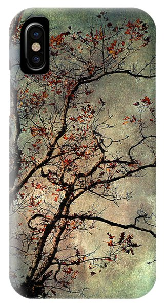Textured Oak Tree Art IPhone Case