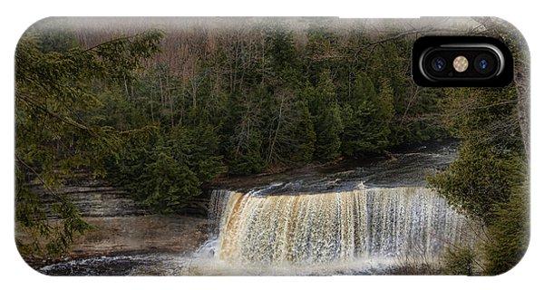 Textured Tahquamenon River Michigan IPhone Case