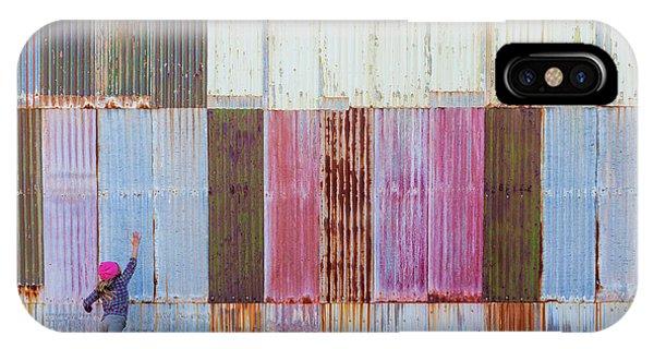 Iron iPhone Case - Textures by Gloria Salgado Gispert