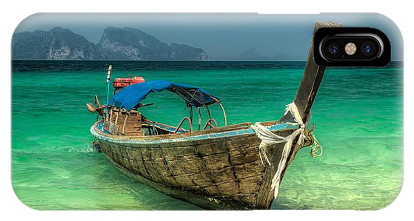 Moor iPhone Case - Thai Boat  by Adrian Evans