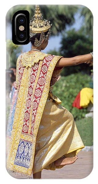 Thai Dancer At Loy Krathong Festival Phone Case by Richard Berry
