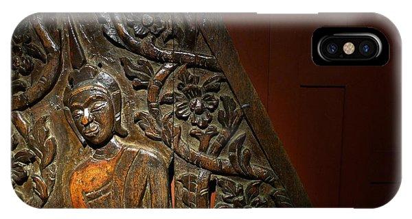 Thai Wood Panel IPhone Case