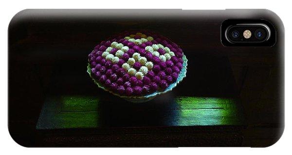 Thai Flower Design IPhone Case