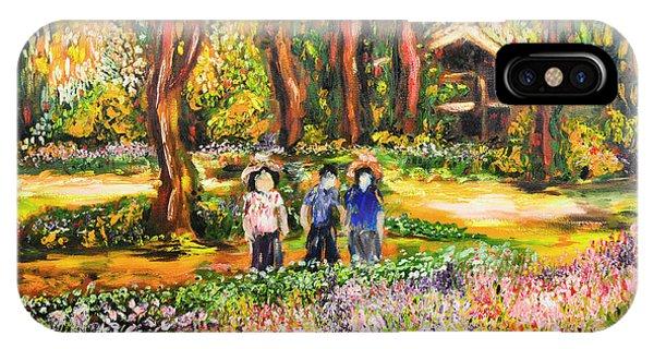 Thai Flower Garden IPhone Case