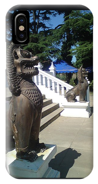Thai Temple Steps IPhone Case