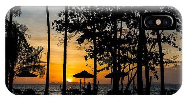 Thailand Sunset IPhone Case