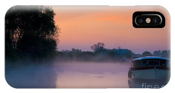 River Thames At Dawn  IPhone Case