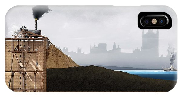 Thames Tunnel Construction Phone Case by Claus Lunau/science Photo Library