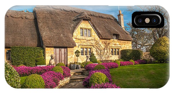 Thatched Cottage Chipping Campden Cotswolds Phone Case by David Ross