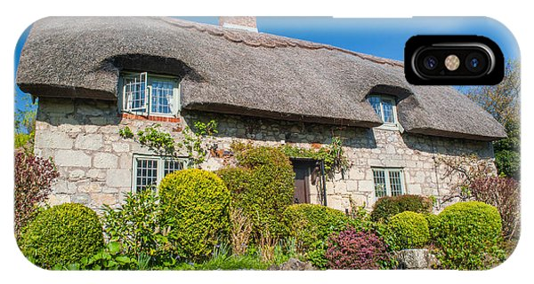 Thatched Cottage Godshill Isle Of Wight Phone Case by David Ross