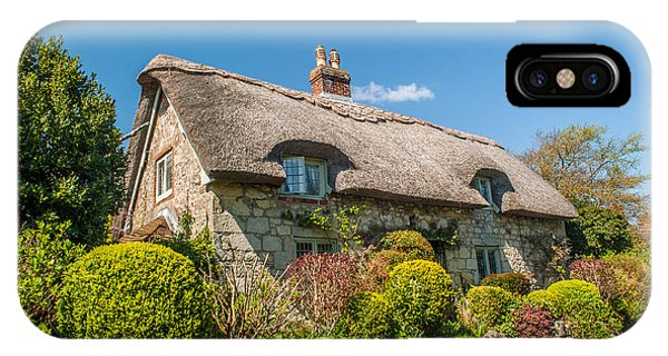 Thatched Cottage Niton Isle Of Wight Phone Case by David Ross