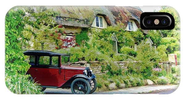 Thatched Cottages At Reybridge IPhone Case