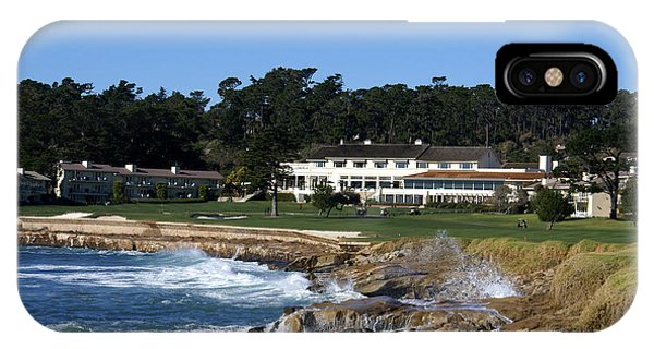 The 18th At Pebble Beach IPhone Case
