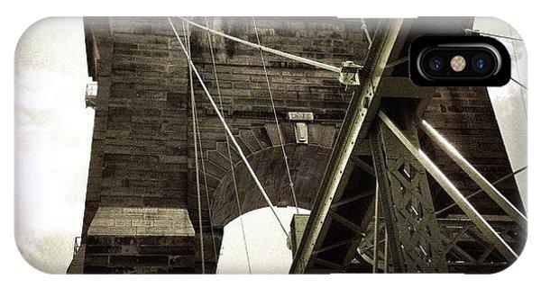 Ohio iPhone Case - The 1st brooklyn Bridge by Natasha Marco
