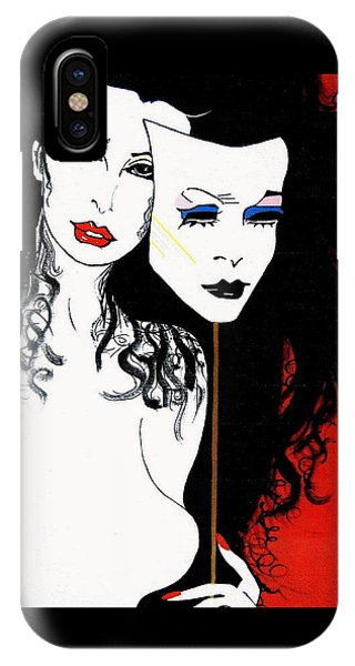 The 2 Face Girl IPhone Case