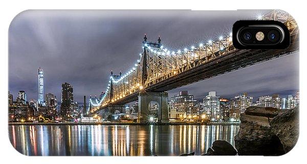 The 59th St Bridge IPhone Case