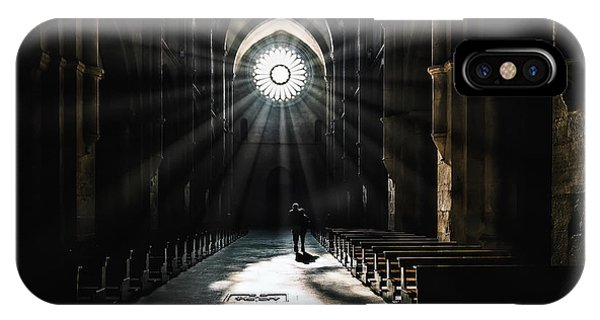 Chapel iPhone Case - The Abbey by Massimiliano Mancini