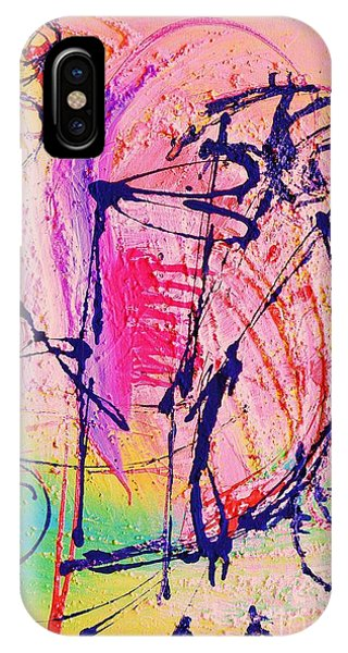 The Abstract Music Makers Phone Case by Ruth Yvonne Ash