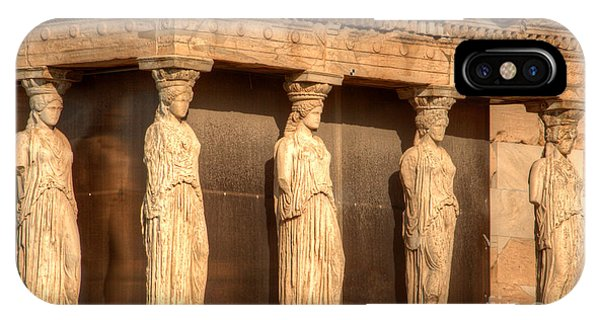 The Acropolis Caryatids IPhone Case
