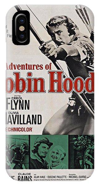 The Adventures Of Robin Hood B IPhone Case