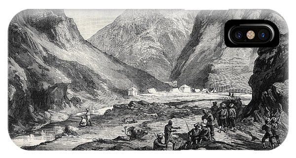 The Afghan War Pass Of Ali Musjid In The Khyber IPhone Case