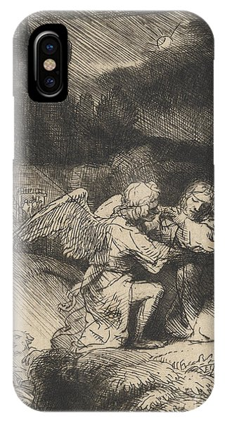 Baroque iPhone Case - The Agony In The Garden by Rembrandt