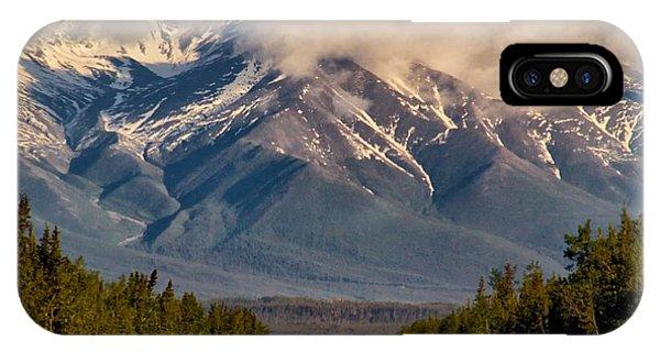 The Alaska Highway Tok Junction Alaska IPhone Case