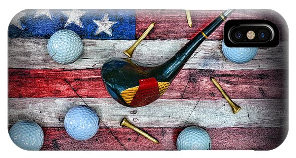 The All American Golfer IPhone Case