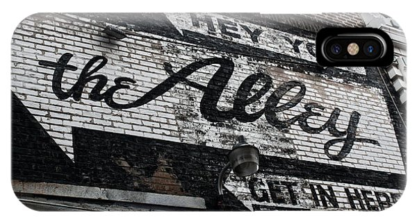 The Alley - Chicago IPhone Case