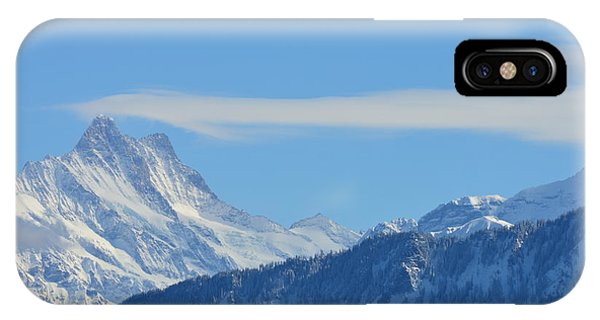 The Alps In Azure IPhone Case