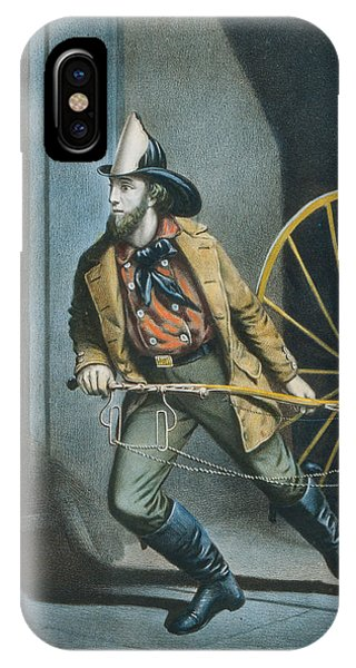 The American Fireman Always Ready IPhone Case