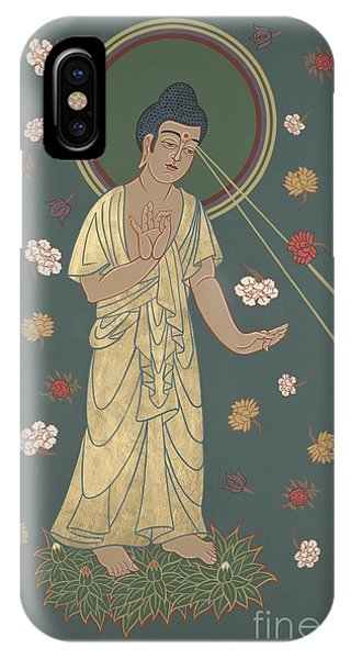 The Amitabha Buddha Descending 247 IPhone Case