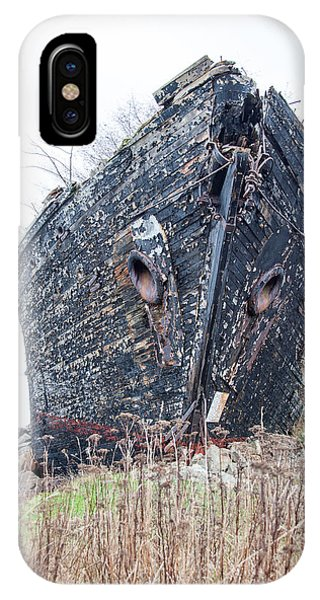 The Ancient Mariner's Ship IPhone Case
