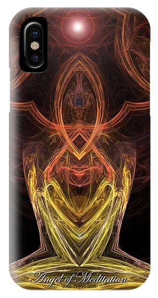 The Angel Of Meditation IPhone Case