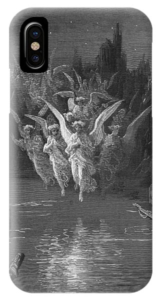 The Angelic Spirits Leave The Dead Bodies And Appear In Their Own Forms Of Light IPhone Case