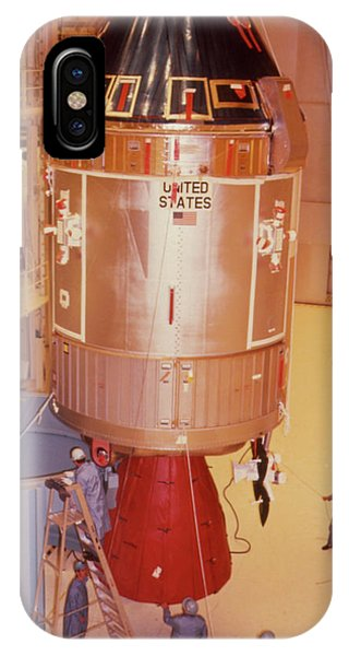 The Apollo 11 Spacecraft Being Prepared For Launch Phone Case by Nasa/science Photo Library
