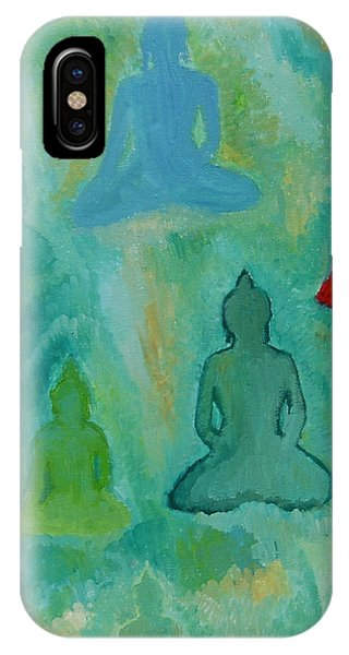 Buddhas Appear IPhone Case