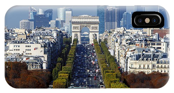 The Arc De Triomphe Paris France IPhone Case