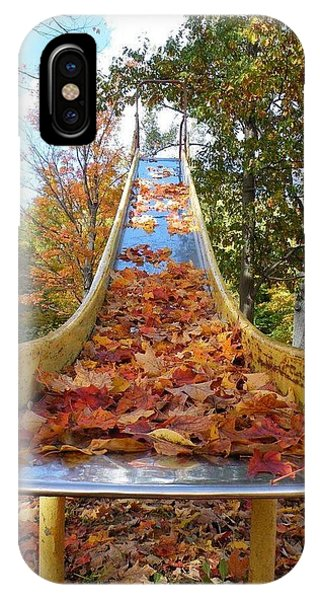 The Arrival Of Fall IPhone Case