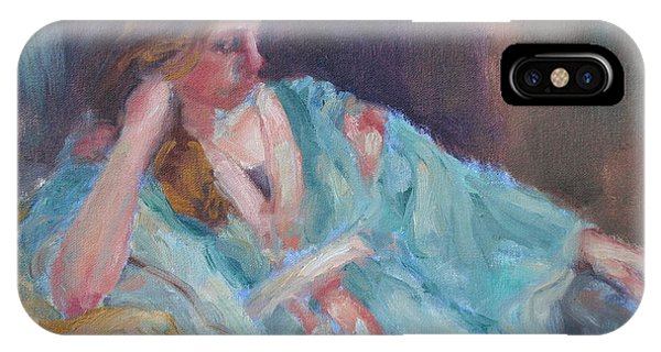 Inner Light - Original Impressionist Painting IPhone Case