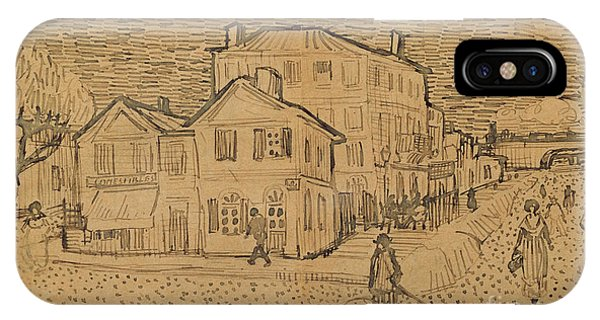 The Artists House In Arles IPhone Case