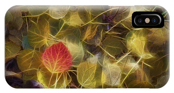 Leave iPhone Case - The Aspen Leaves by Veikko Suikkanen
